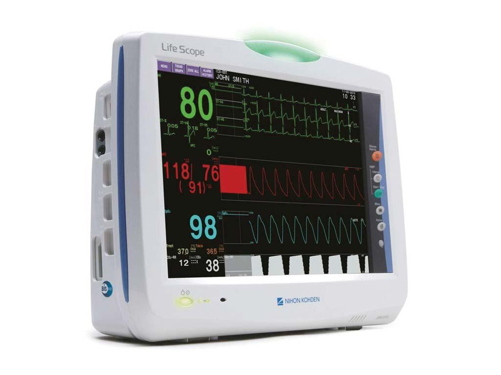 Monitor da Nihon Kohden: referência no monitoramento das funções vitais dos pacientes